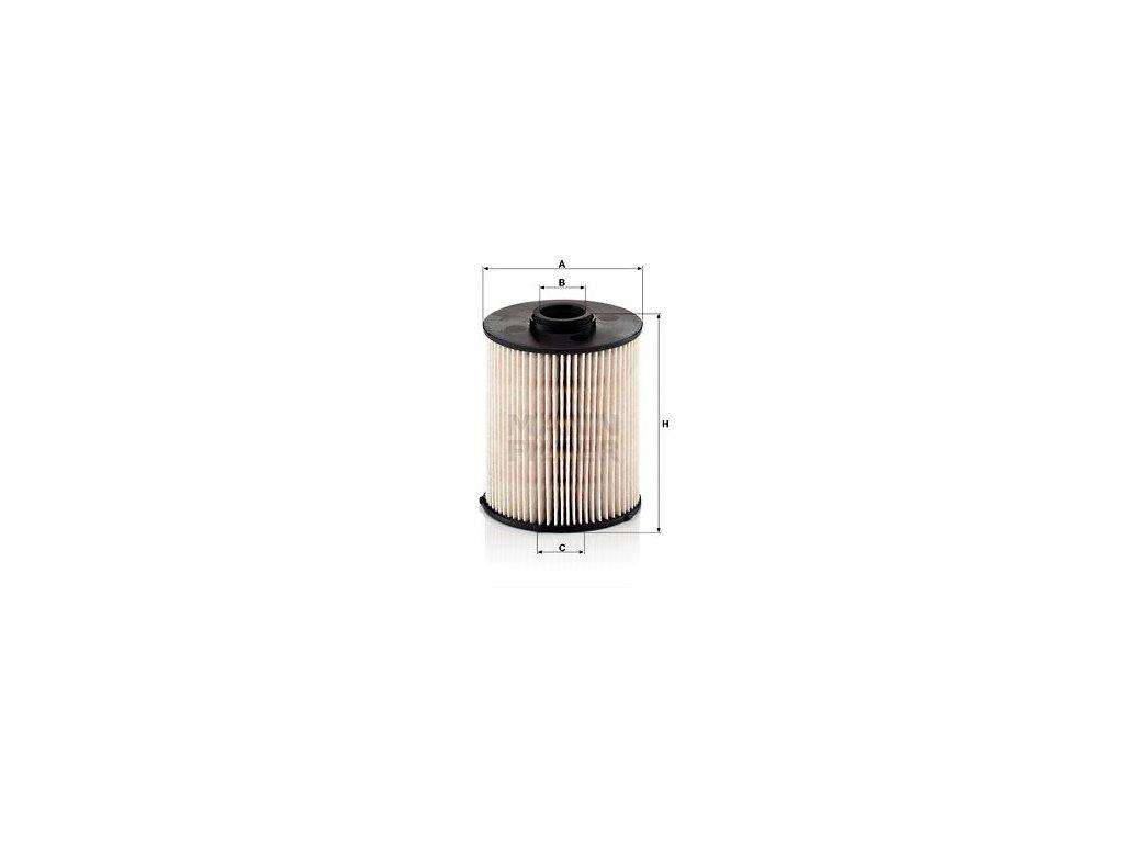 Palivový filtr MANN-FILTER PU 839 x