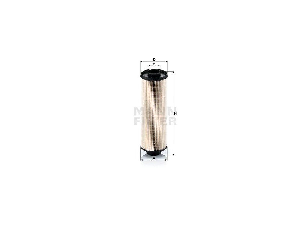 Palivový filtr MANN-FILTER PU 850 x