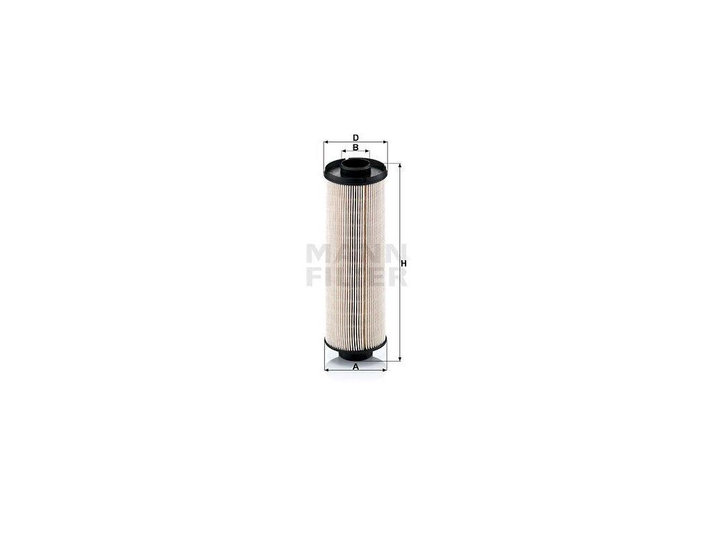 Palivový filtr MANN-FILTER PU 855 x