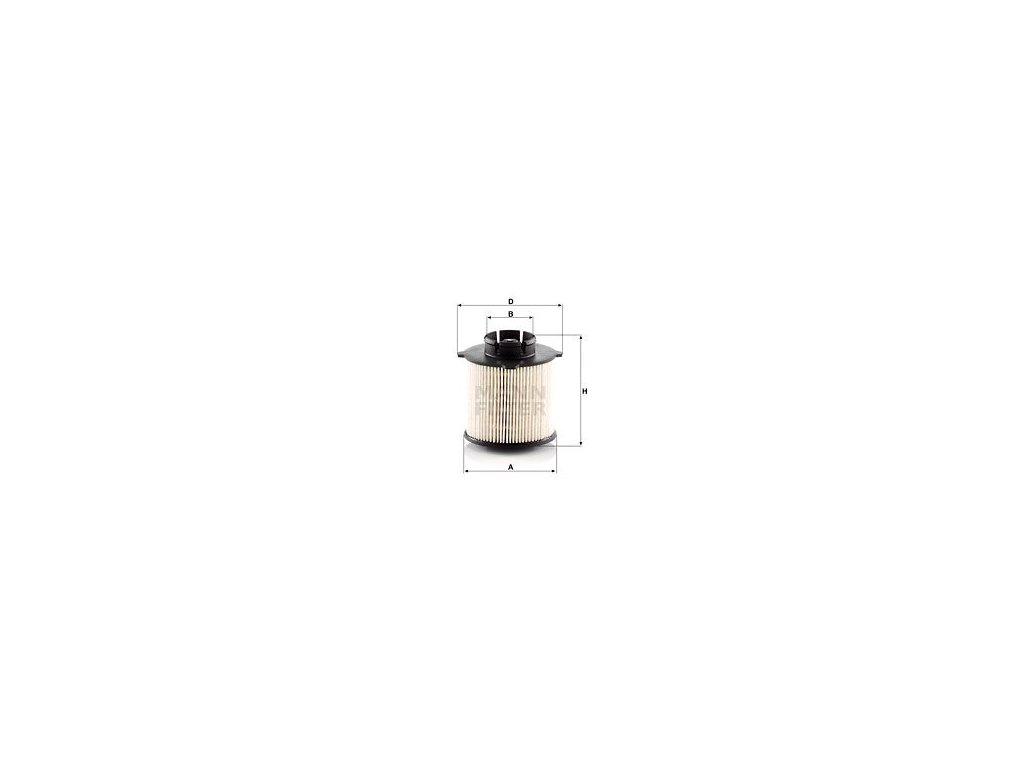 Palivový filtr MANN-FILTER PU 9001 x