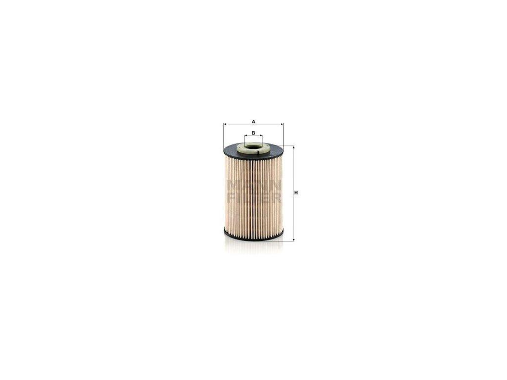 Palivový filtr MANN-FILTER PU 9003 z