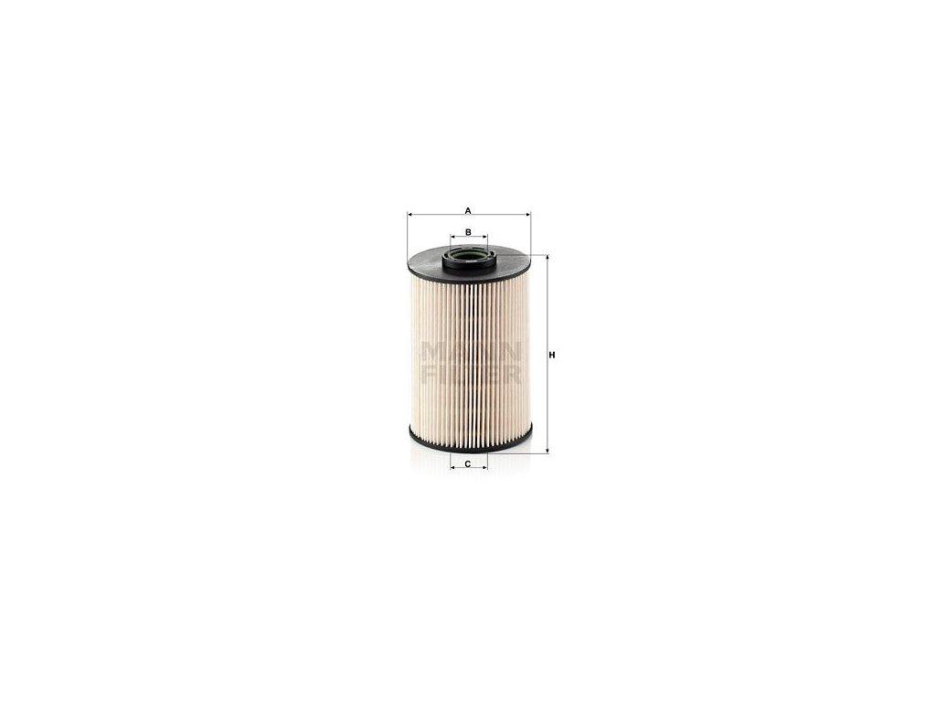 Palivový filtr MANN-FILTER PU 937 x
