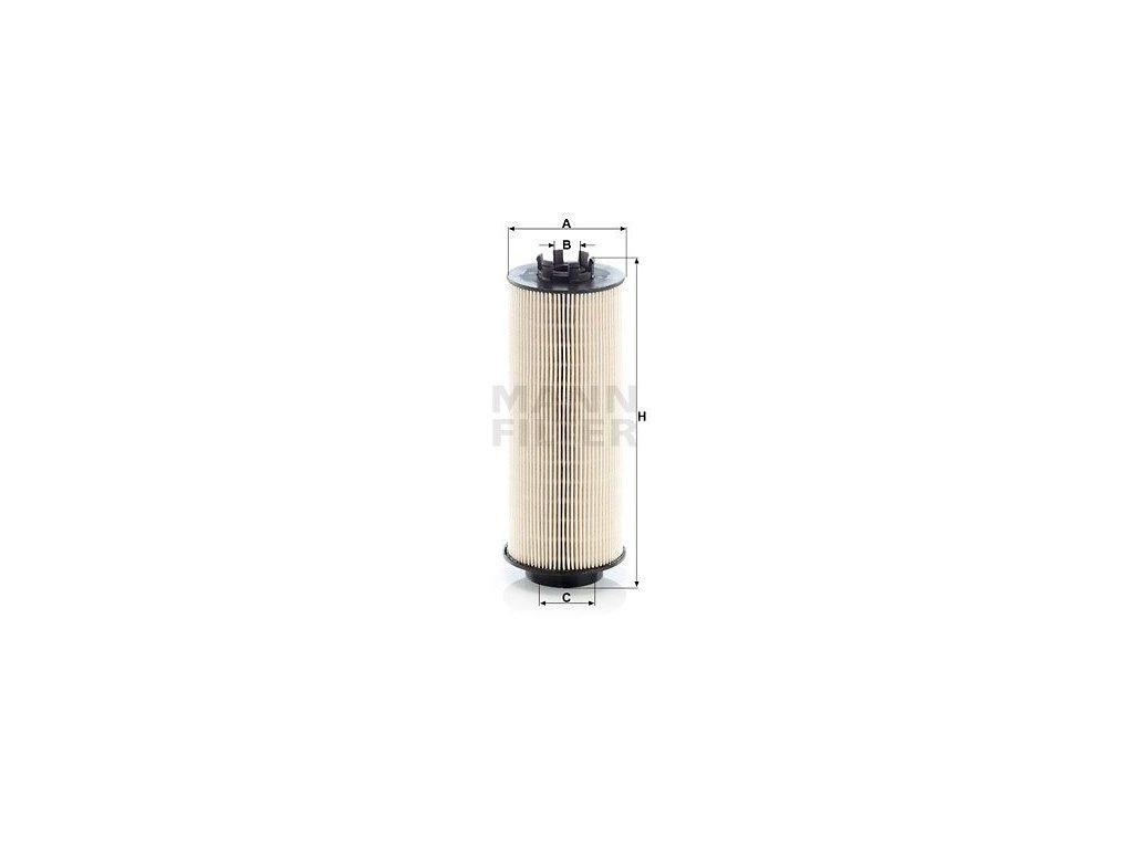 Palivový filtr MANN-FILTER PU 966/1 x