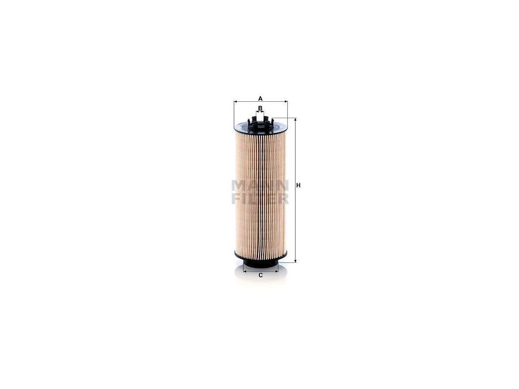 Palivový filtr MANN-FILTER PU 966/2 x