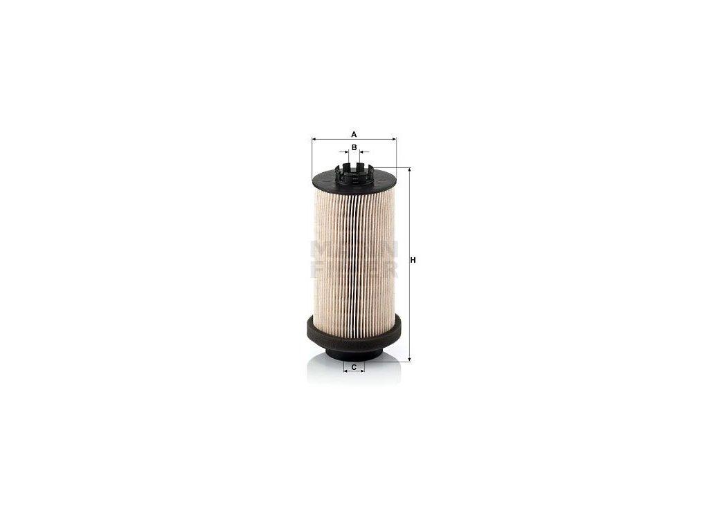 Palivový filtr MANN-FILTER PU 999/1 x