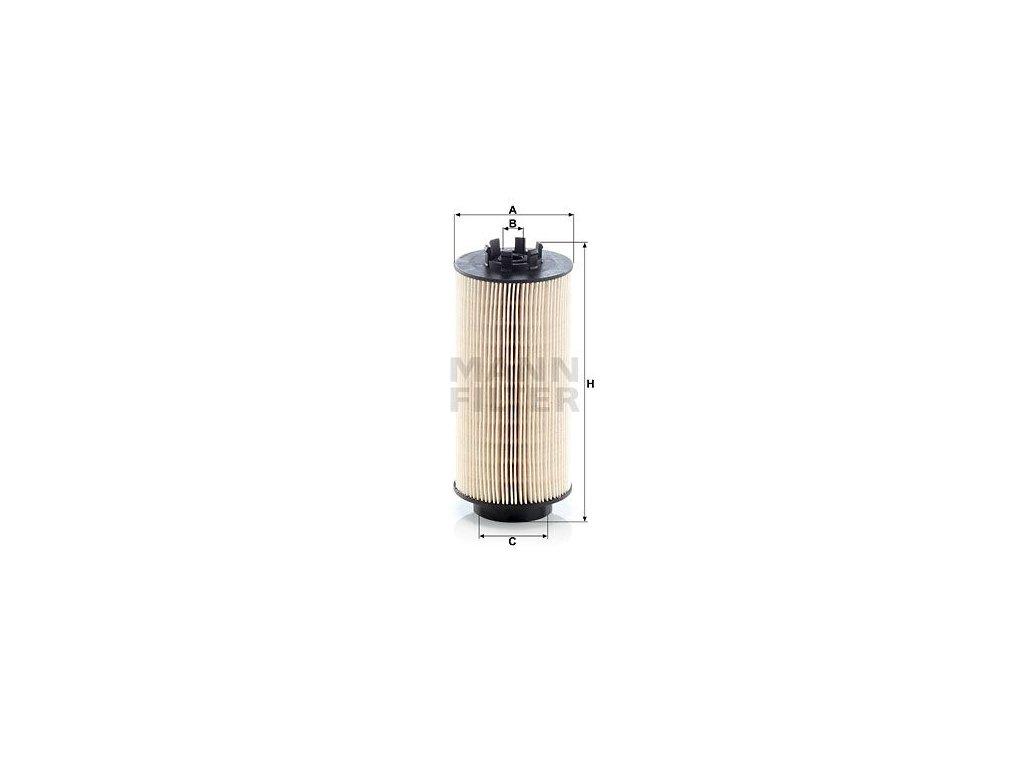 Palivový filtr MANN-FILTER PU 999/2 x