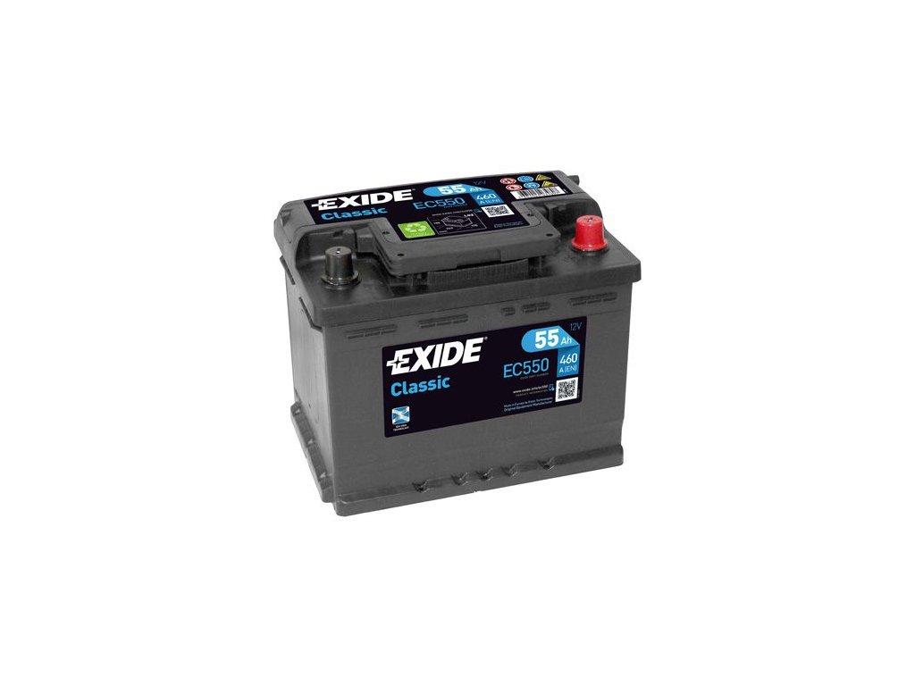 Startovací baterie EXIDE CLASSIC * EC550