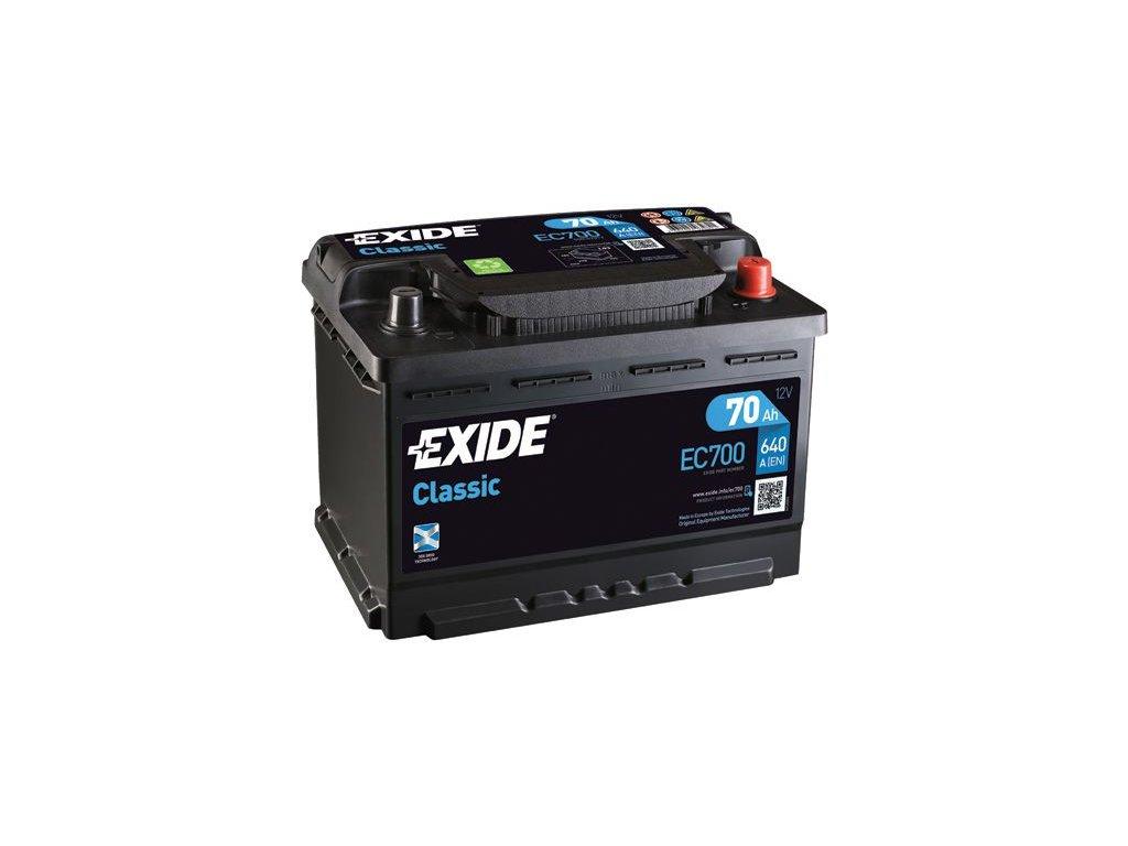 Startovací baterie EXIDE CLASSIC * EC700