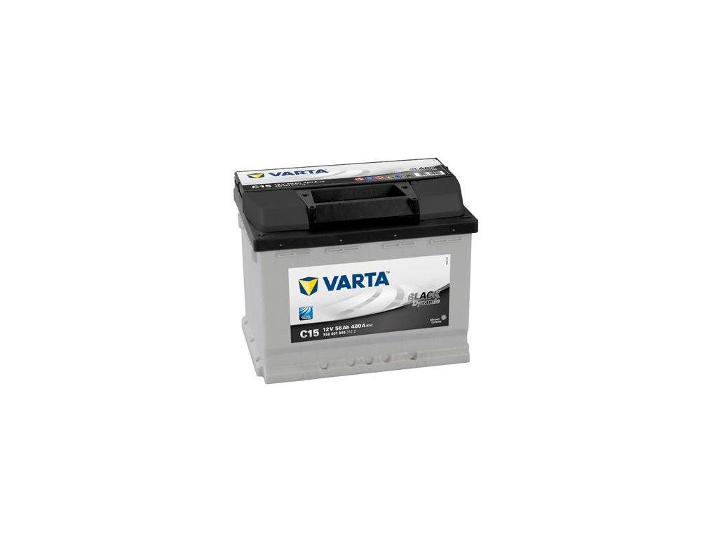 Startovací baterie VARTA BLACK dynamic 5564010483122