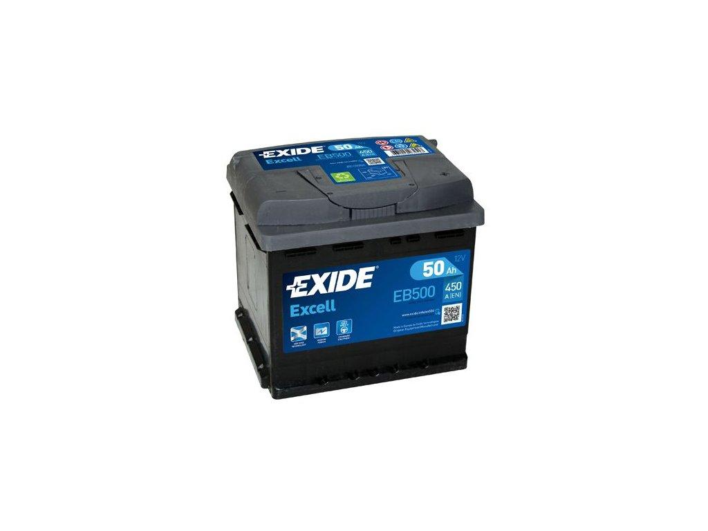 Startovací baterie EXIDE EXCELL ** EB500