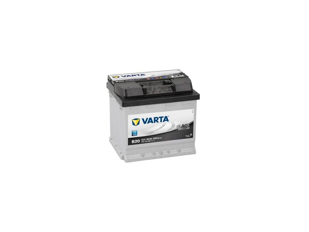 Startovací baterie VARTA BLACK dynamic 5454130403122