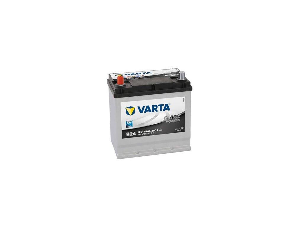 Startovací baterie VARTA BLACK dynamic 5450790303122