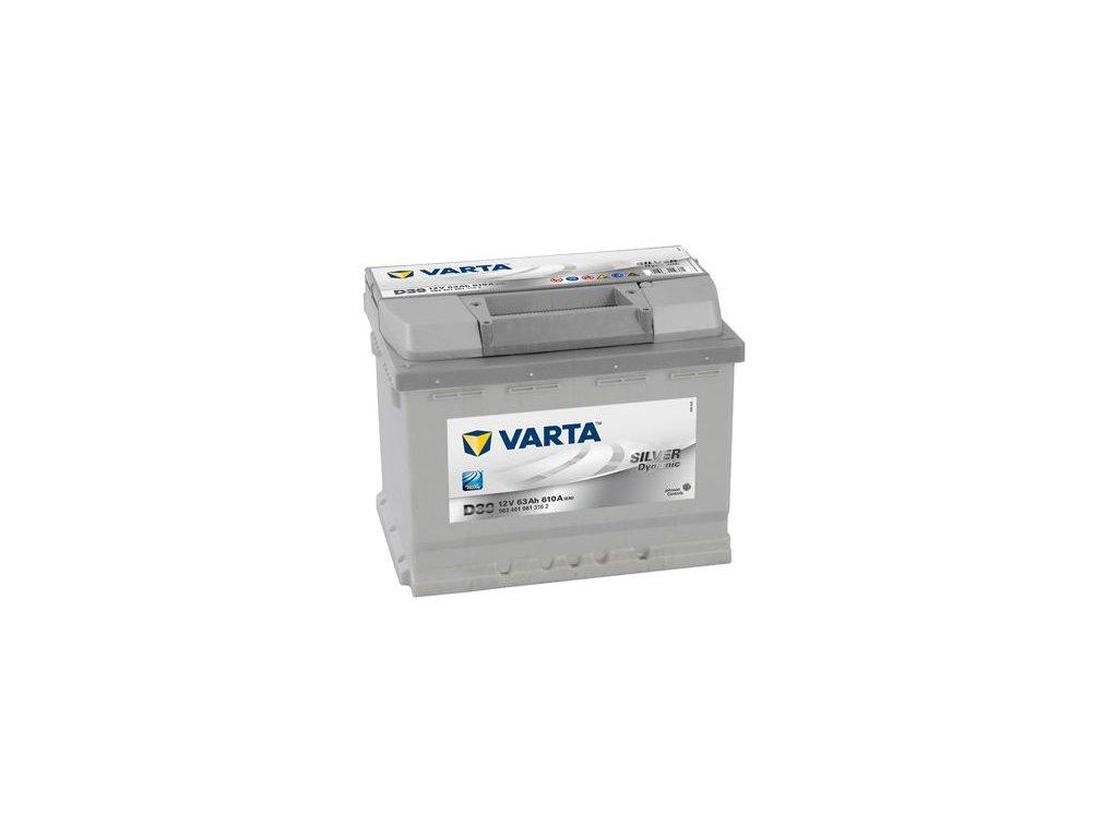 Startovací baterie VARTA SILVER dynamic 5634010613162