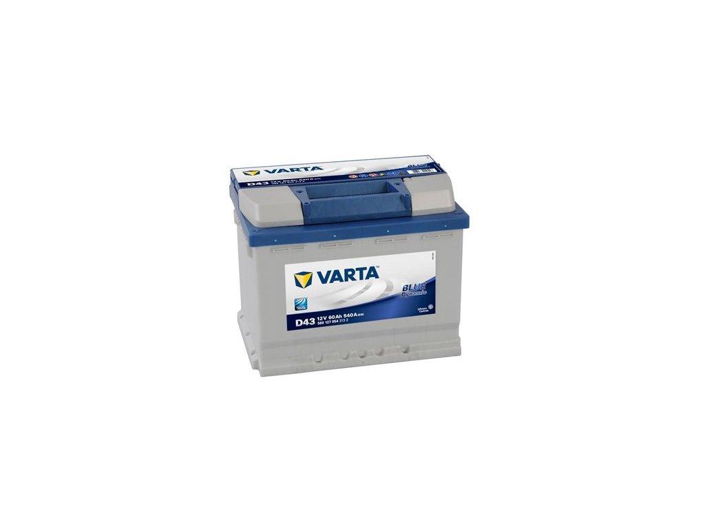 Startovací baterie VARTA BLUE dynamic 5601270543132