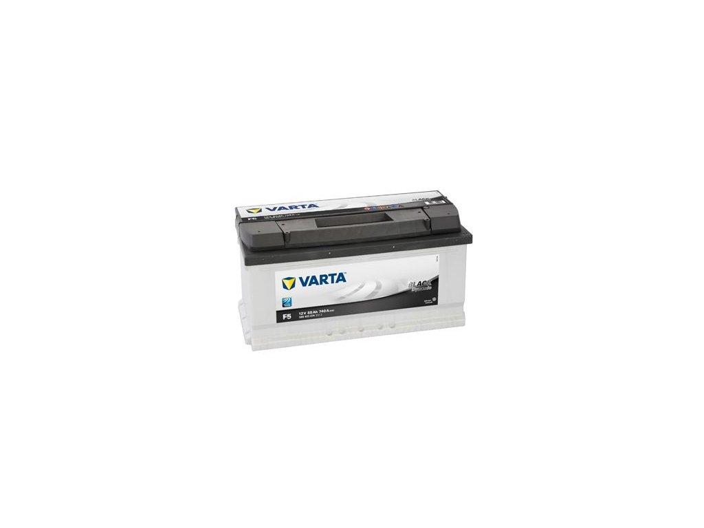 Startovací baterie VARTA BLACK dynamic 5884030743122
