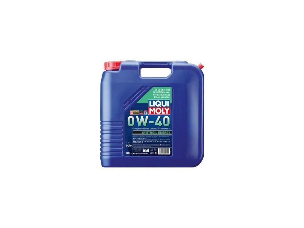 Motorový olej LIQUI MOLY Synthoil Energy 0W-40 1362