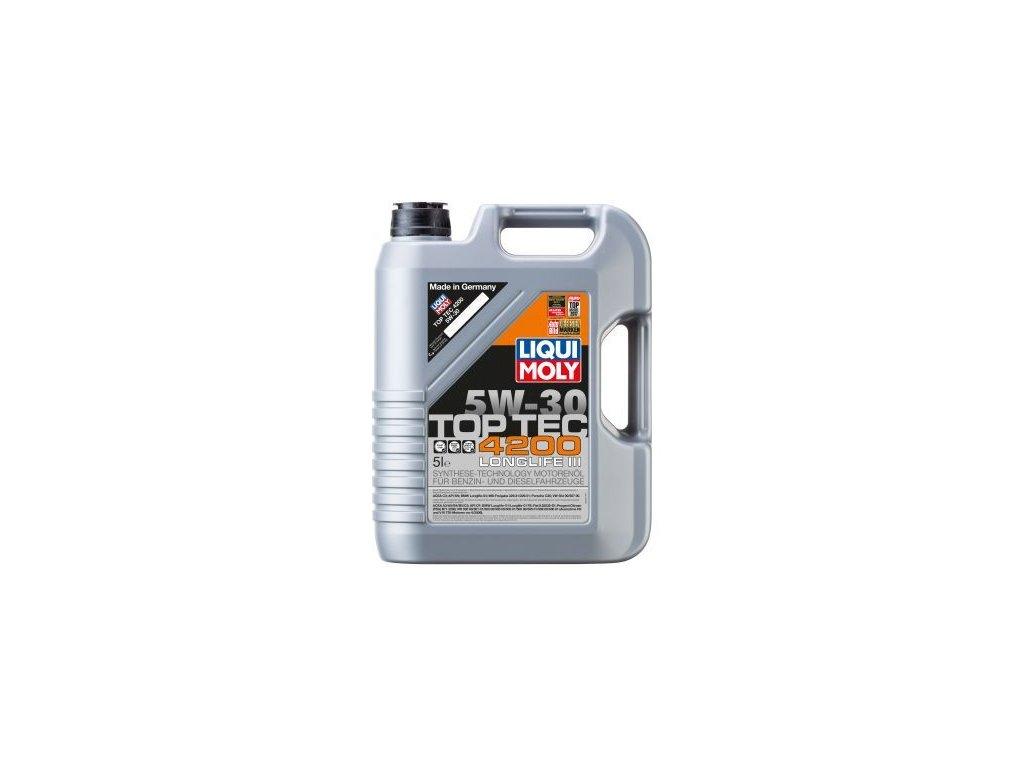 Motorový olej LIQUI MOLY Top Tec 4200 5W-30 3707