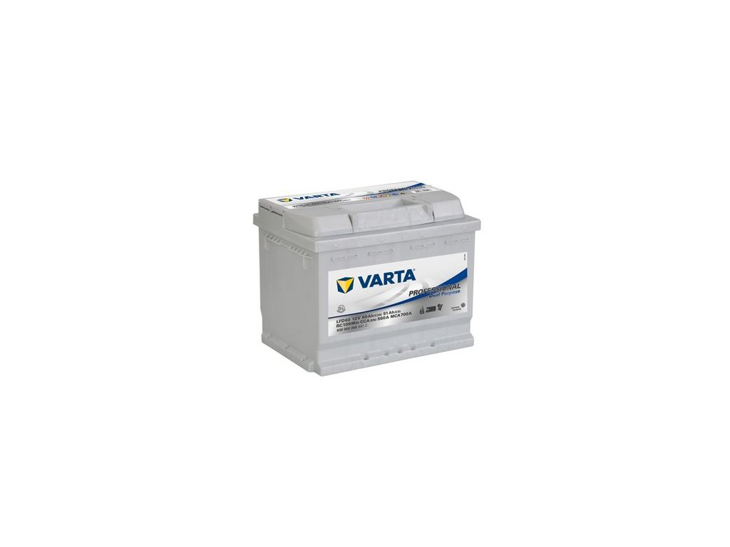 Startovací baterie VARTA Professional Dual Purpose 930060056B912
