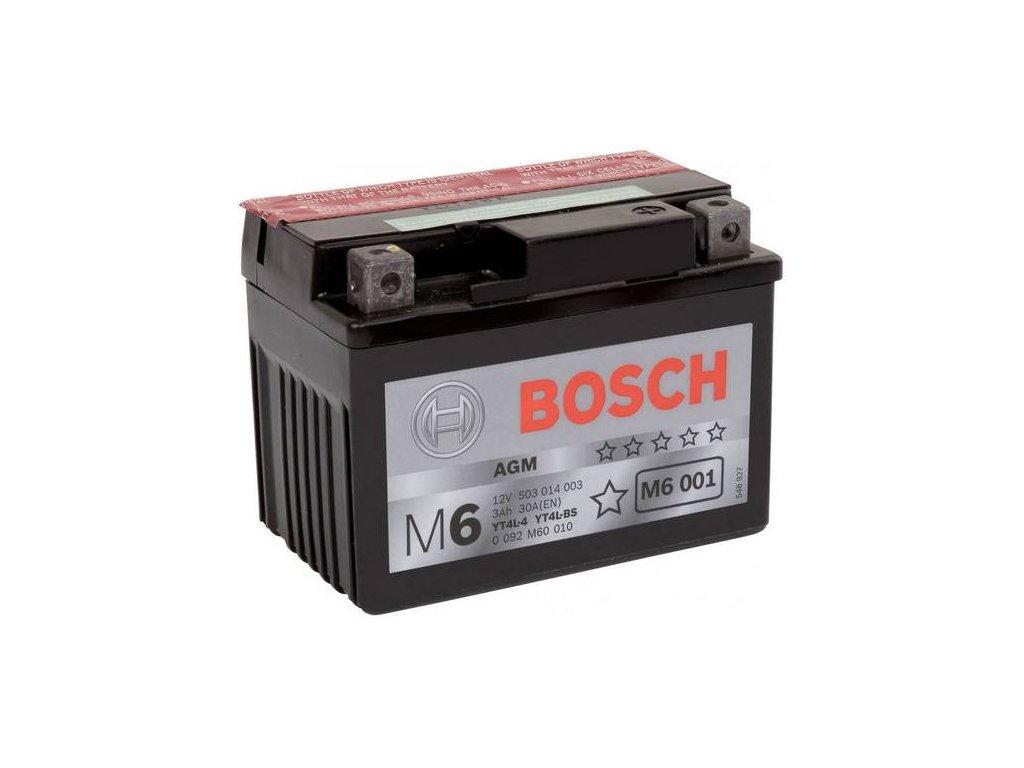 Startovací baterie BOSCH M6 0 092 M60 010
