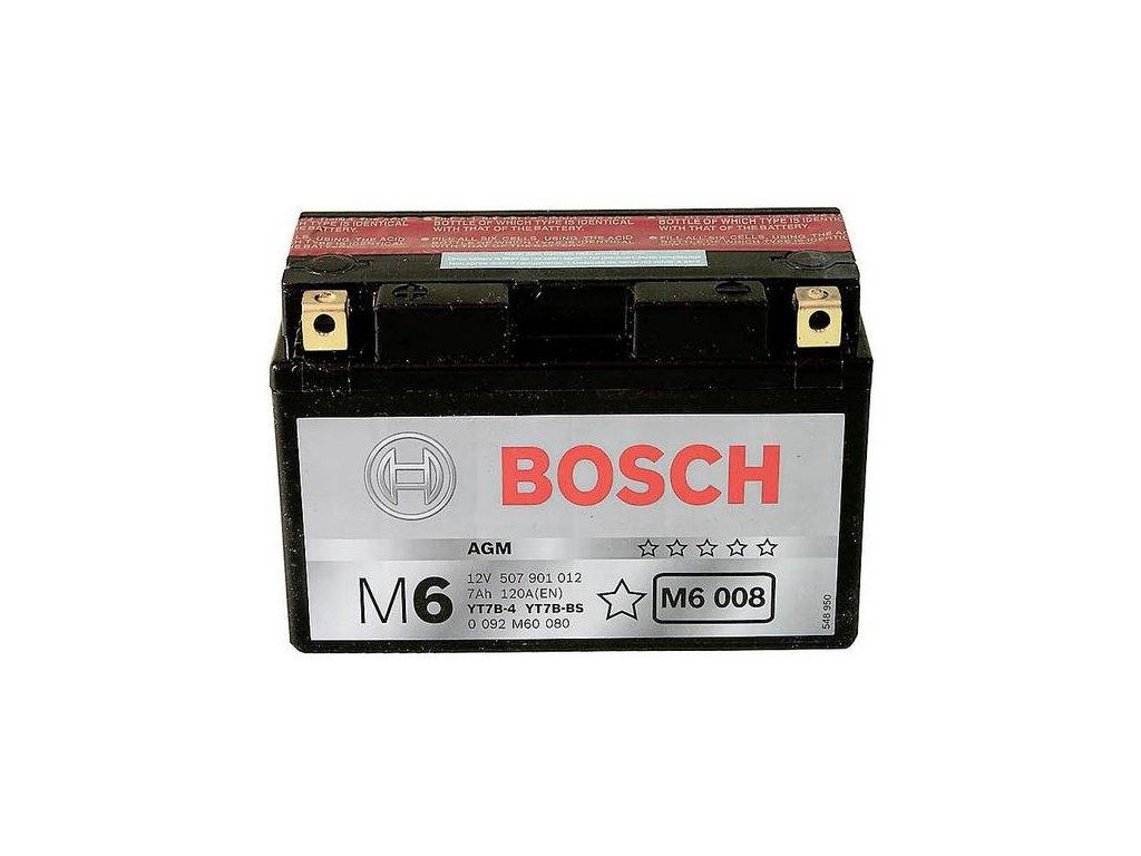 Startovací baterie BOSCH M6 0 092 M60 080