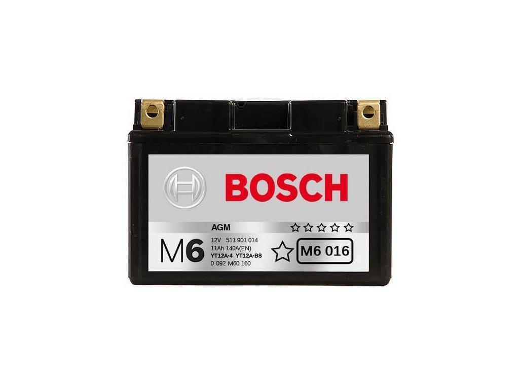 Startovací baterie BOSCH M6 0 092 M60 160
