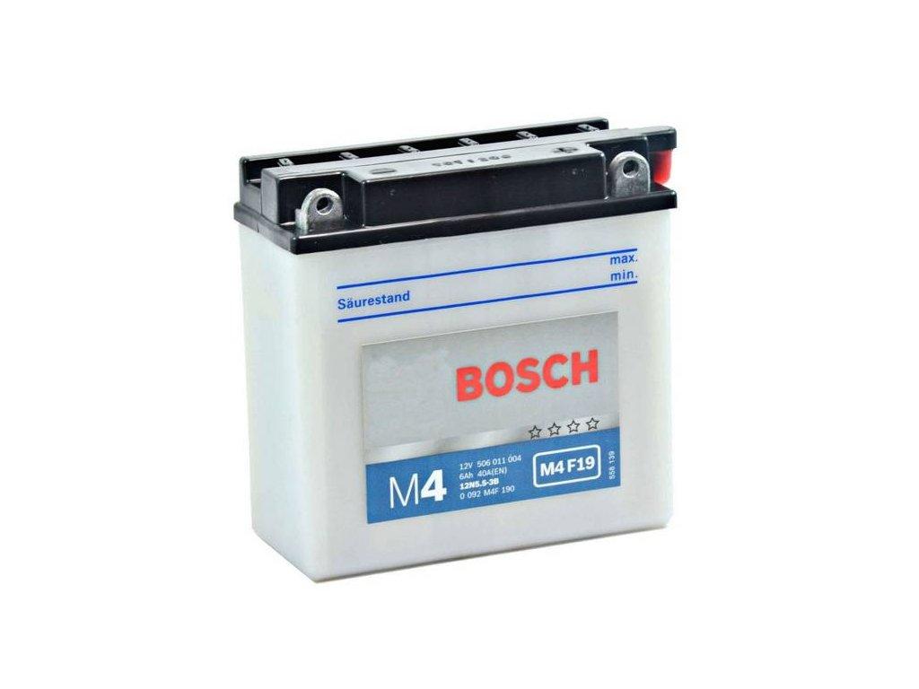 Startovací baterie BOSCH M4 Fresh Pack 0 092 M4F 190