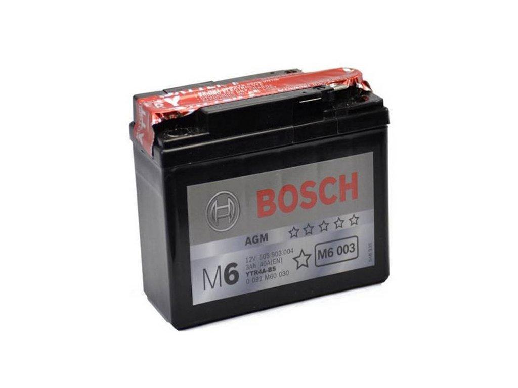 Startovací baterie BOSCH M6 0 092 M60 030