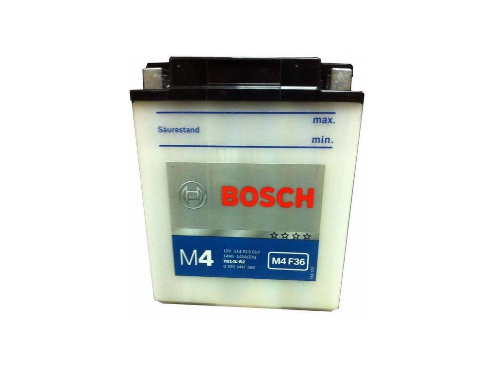 Startovací baterie BOSCH M4 Fresh Pack 0 092 M4F 360