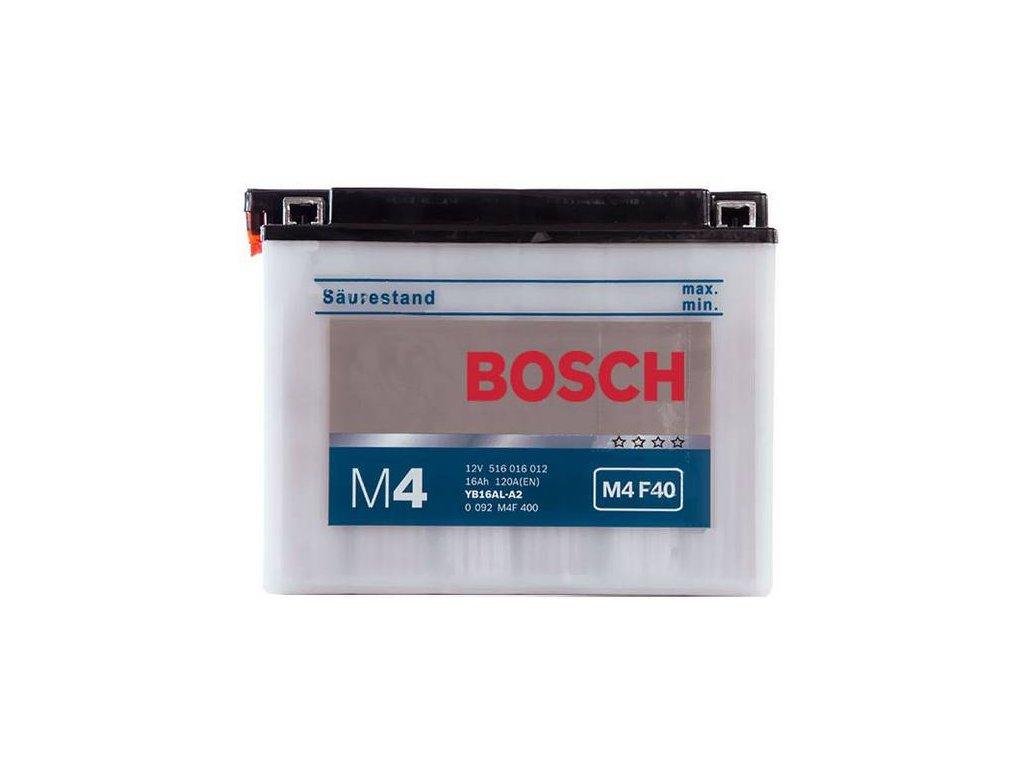 Startovací baterie BOSCH M4 Fresh Pack 0 092 M4F 400