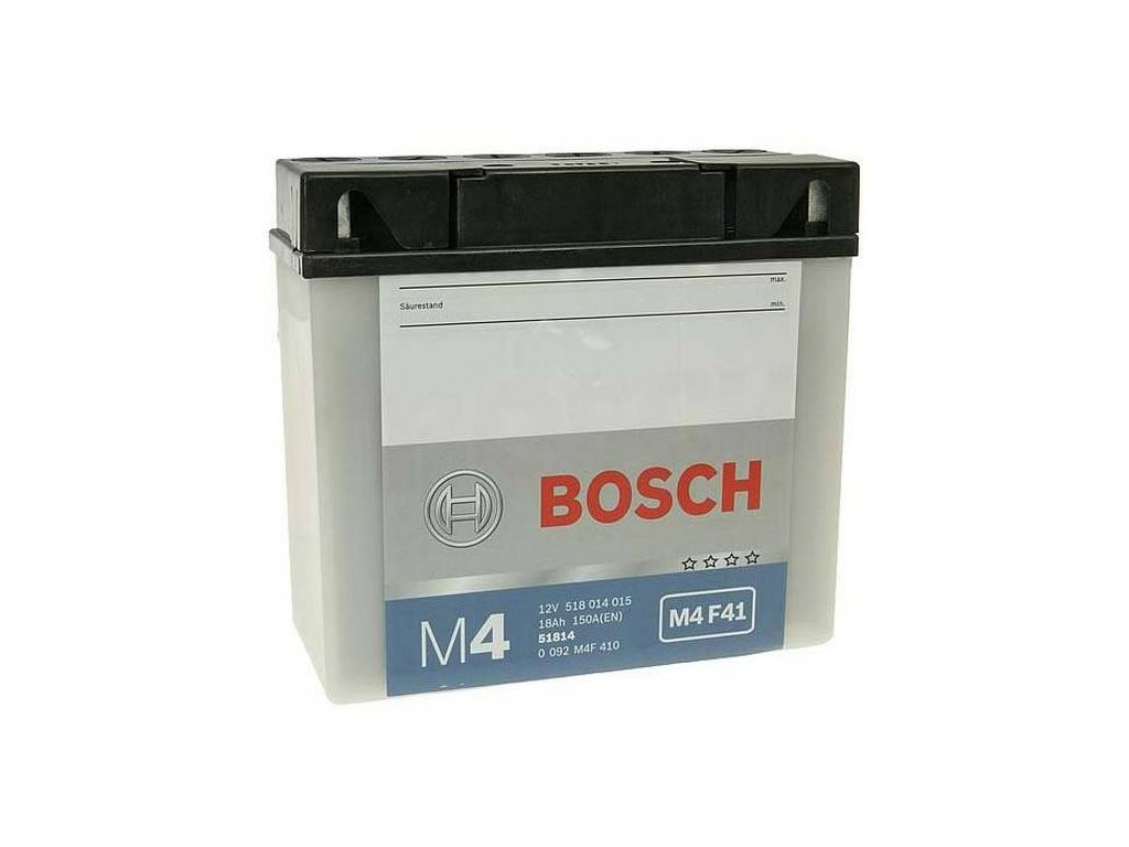 Startovací baterie BOSCH M4 Fresh Pack 0 092 M4F 410