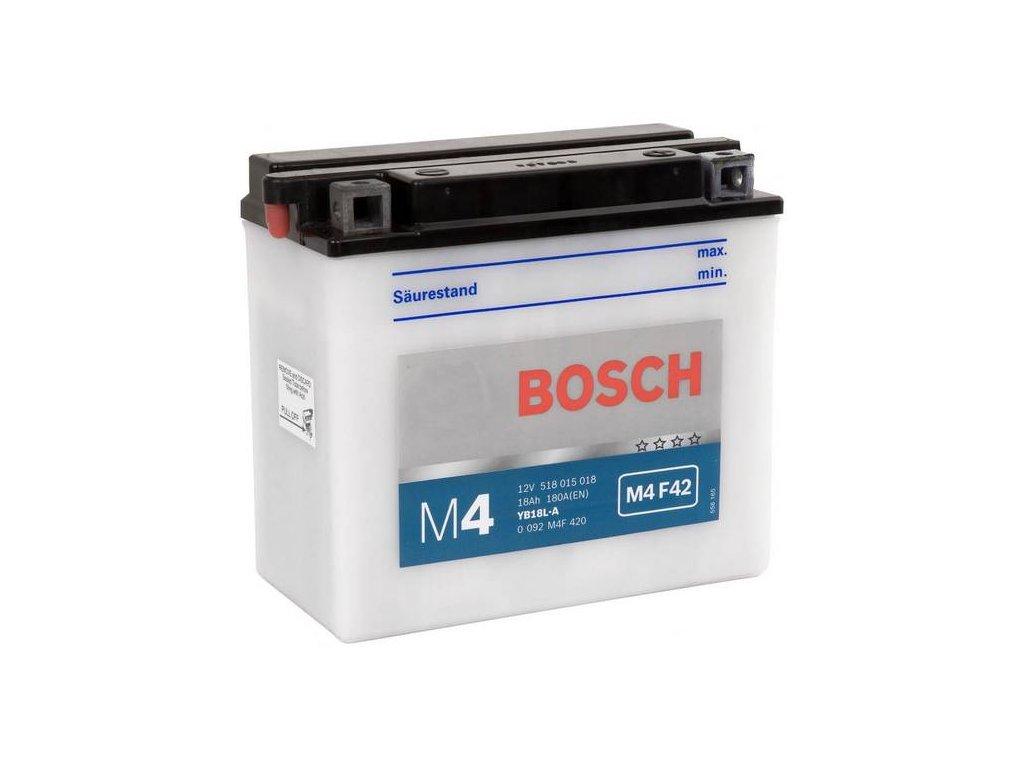 Startovací baterie BOSCH M4 Fresh Pack 0 092 M4F 420