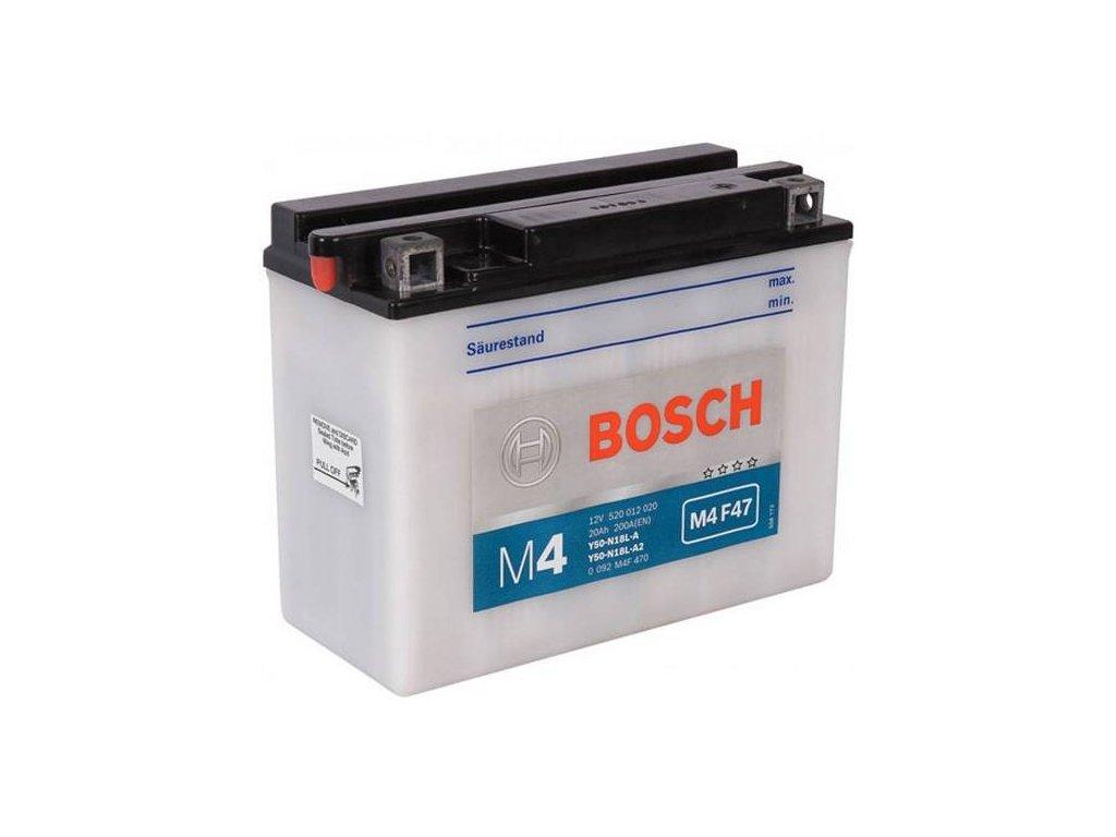 Startovací baterie BOSCH M4 Fresh Pack 0 092 M4F 470