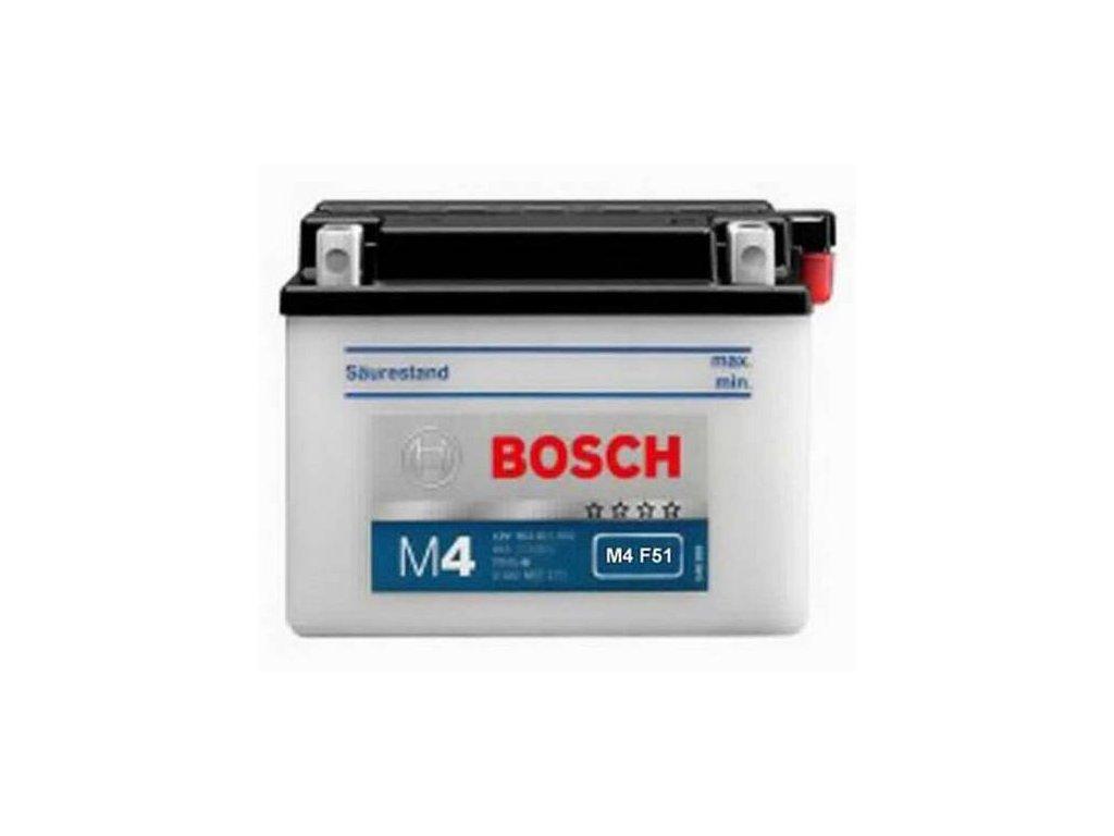 Startovací baterie BOSCH SLI 0 092 M4F 510