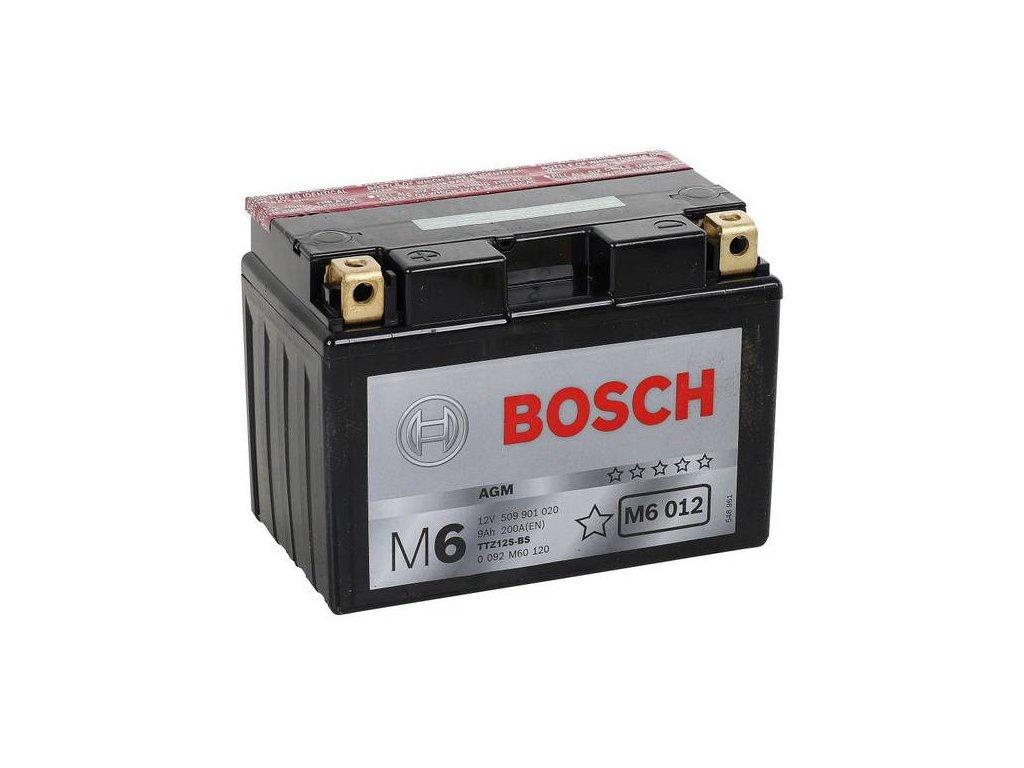 Startovací baterie BOSCH M6 0 092 M60 120