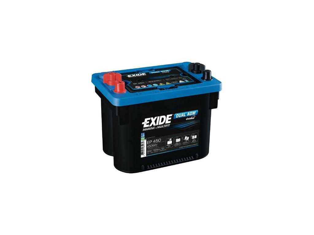 Startovací baterie EXIDE EXIDE DUAL AGM EP450