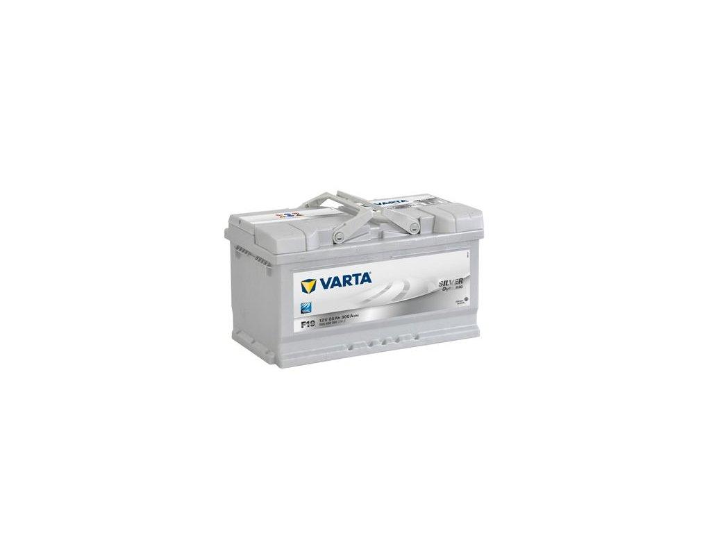 Startovací baterie VARTA SILVER dynamic 5854000803162