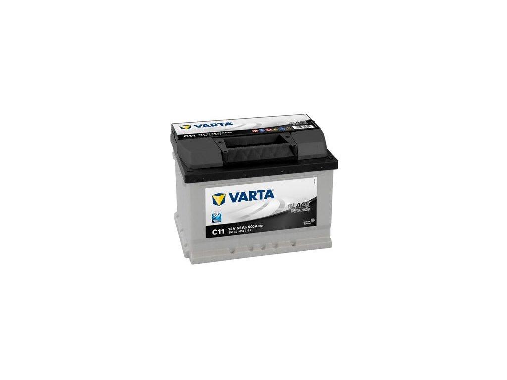 Startovací baterie VARTA BLACK dynamic 5534010503122