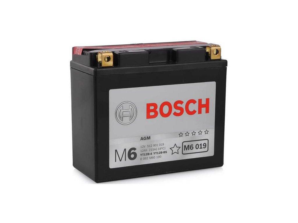 Startovací baterie BOSCH M6 0 092 M60 190