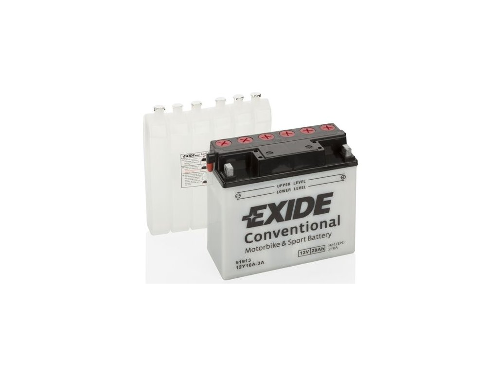 Startovací baterie EXIDE EXIDE Conventional 12Y16A-3A