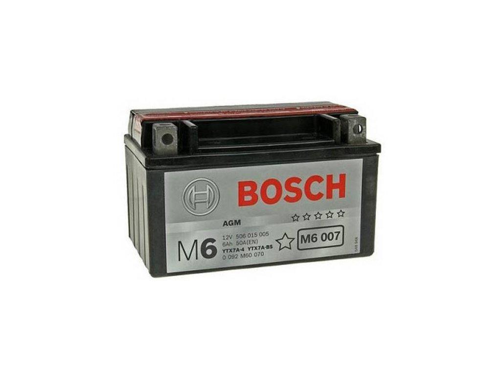 Startovací baterie BOSCH M6 0 092 M60 070