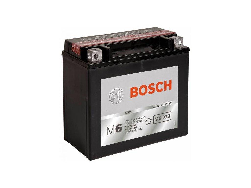 Startovací baterie BOSCH M6 0 092 M60 230