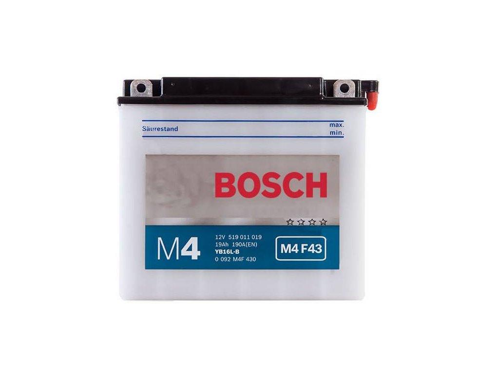 Startovací baterie BOSCH M4 Fresh Pack 0 092 M4F 430