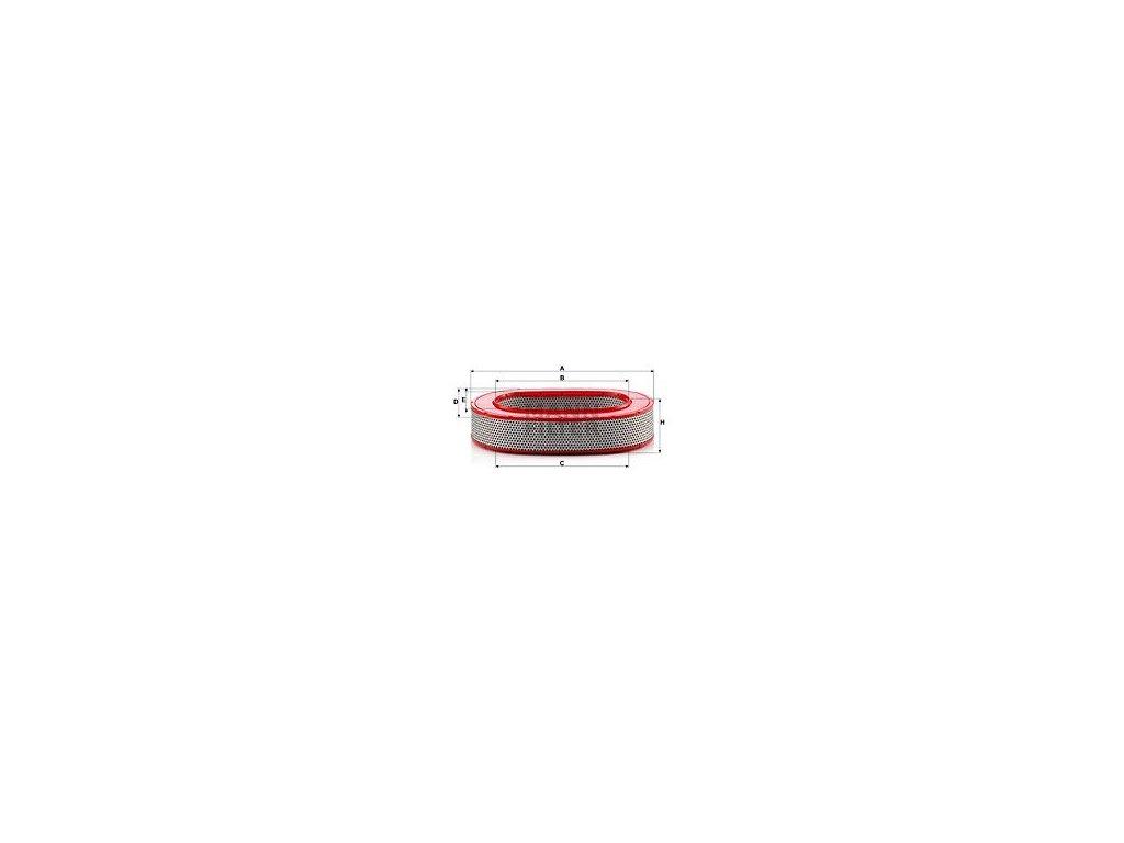 Vzduchový filtr MANN-FILTER C 37 145
