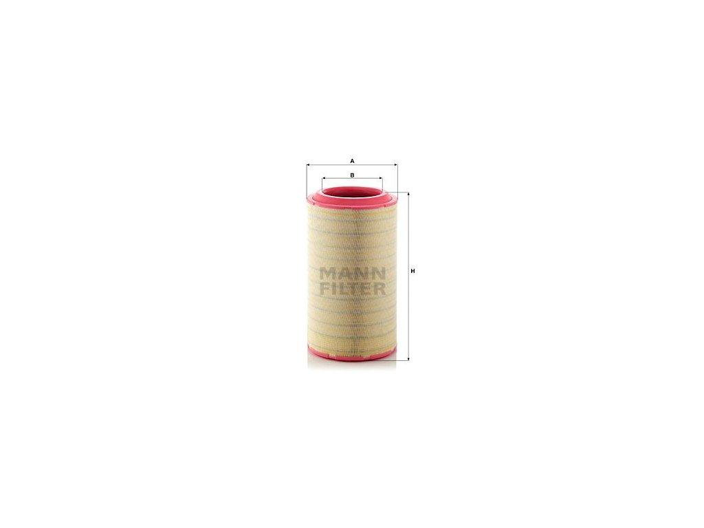 Vzduchový filtr MANN-FILTER C 37 2680/2