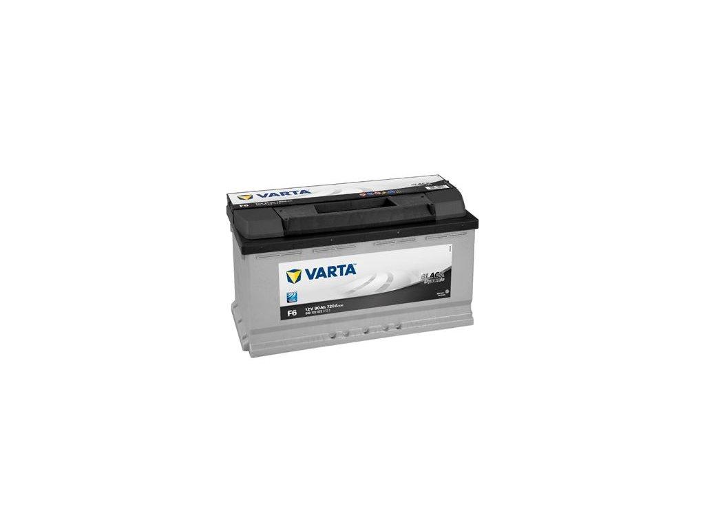 Startovací baterie VARTA BLACK dynamic 5901220723122