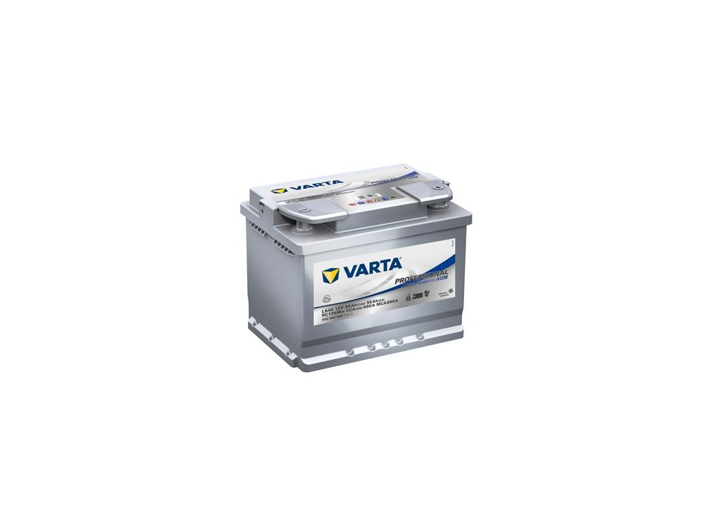 Startovací baterie VARTA Professional Dual Purpose AGM 840060068C542