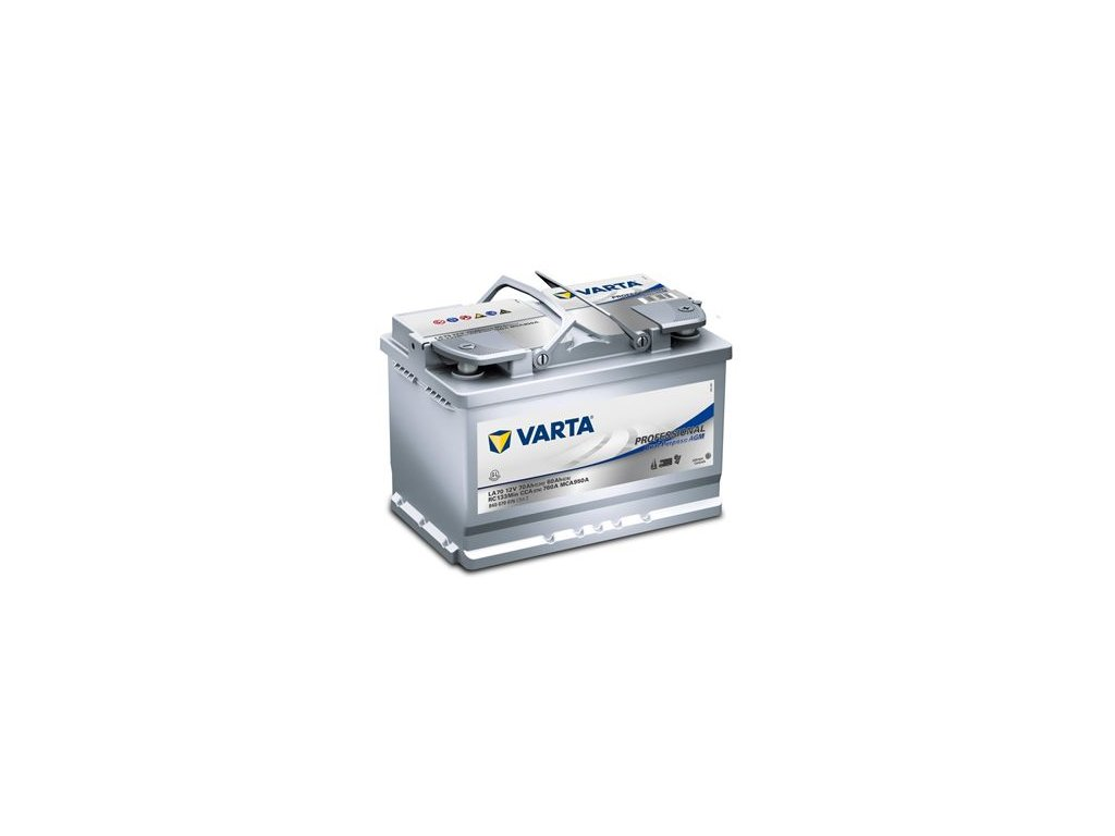 Startovací baterie VARTA Professional Dual Purpose AGM 840070076C542