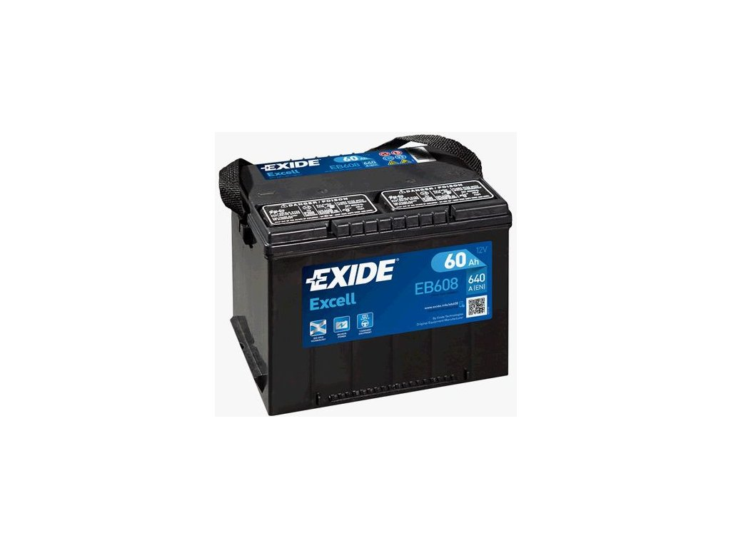 Startovací baterie EXIDE EXCELL ** EB608