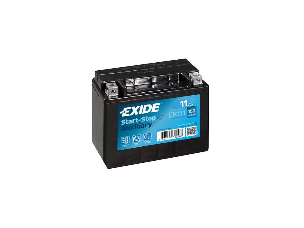 Startovací baterie EXIDE Start-Stop Auxiliary EK111