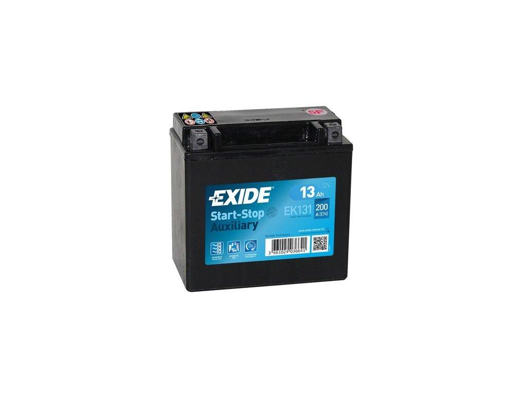 Startovací baterie EXIDE Start-Stop Auxiliary EK131